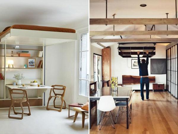 ¿Cómo ahorrar espacio en un piso pequeño?