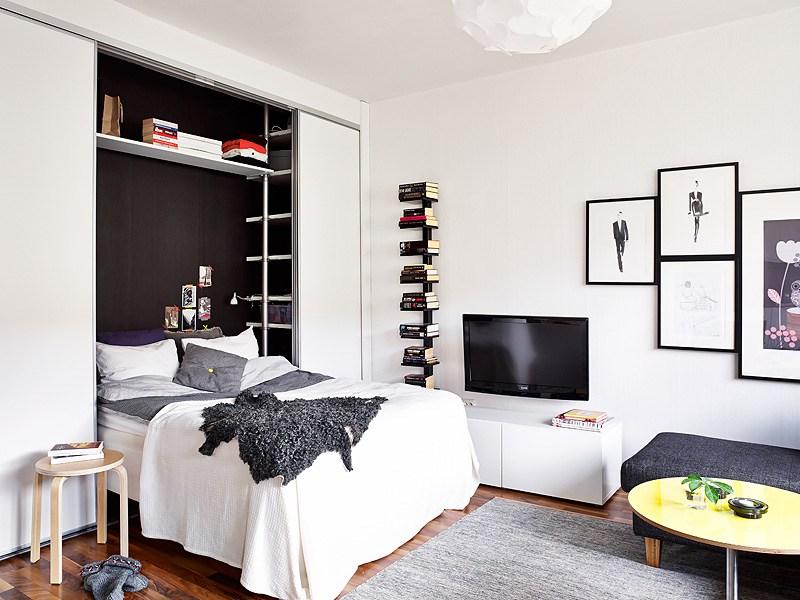 Cómo ahorrar espacio en un piso pequeño