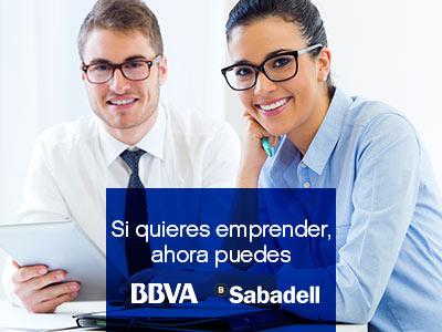 Acuerdo franquicias BBVA y Banco Sabadell