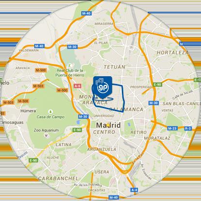 Inmobiliaria en chamber alquiler y venta de pisos y casas - Zona chamberi madrid ...